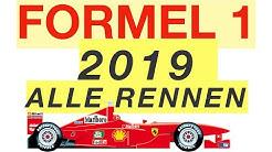 Formel 1: Kalender 2019 🏎🏁🏆 | #BesserWissen