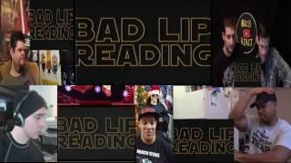 STAR WARS: A Bad Lip Reading(Reaction Mashup)