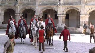Bradley James, Angel Coulby and the knights of Camelot 14/9/10