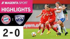FC Bayern München - FF USV Jena   19. Spieltag, 2019/2020   MAGENTA SPORT