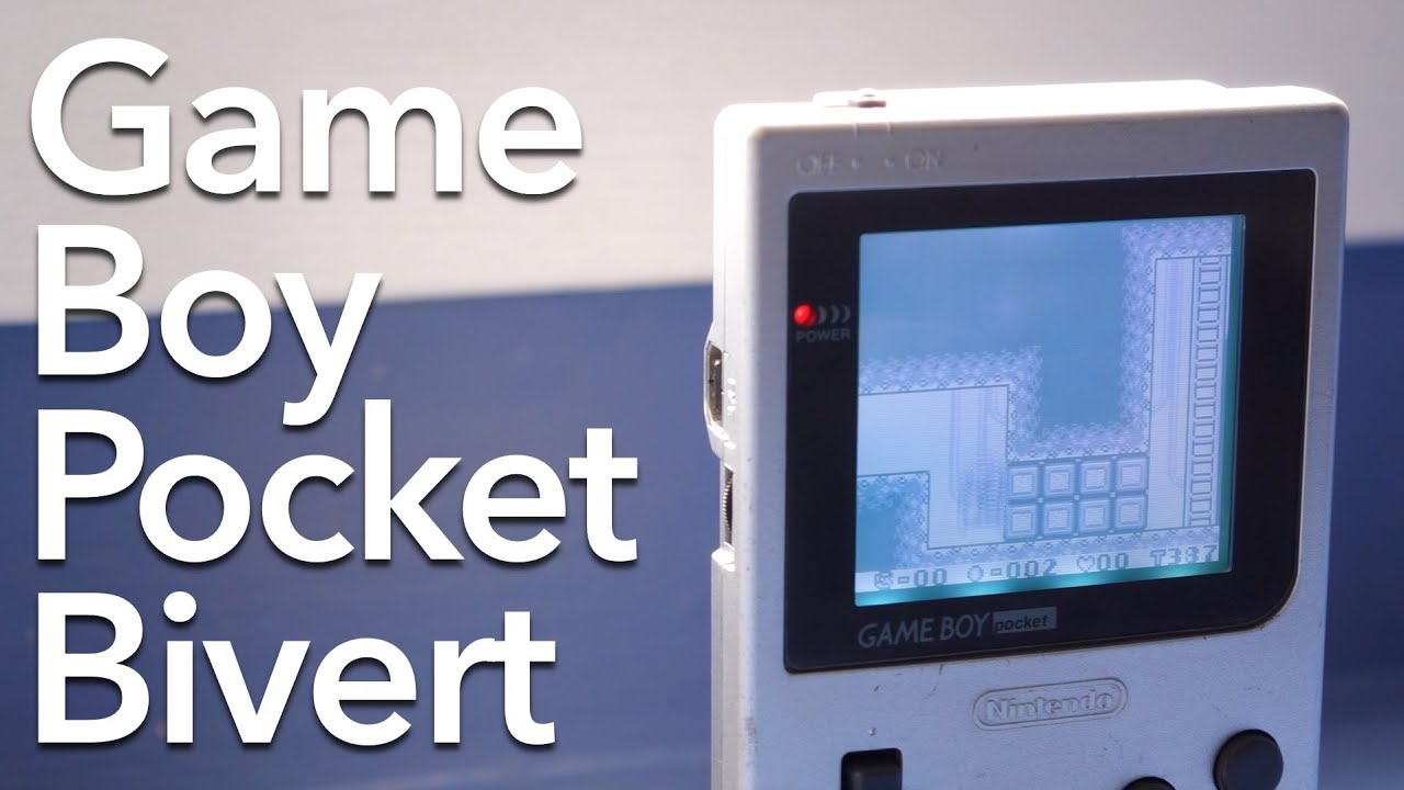 Bivert Your Game Boy Pocket Youtube