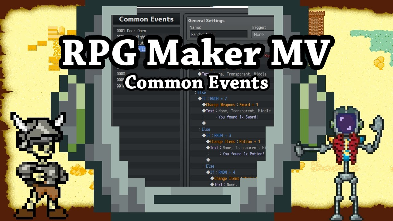 RPG Maker MV Common Events