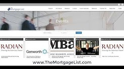 February 25, 2019 The Mortgage List Weekly Event Recap