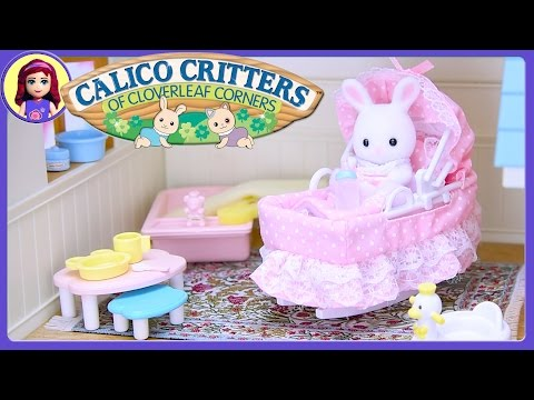 Calico Critters Sophie's Love 'n Care Set Sylvanian Families  Silly Play Kids Toys
