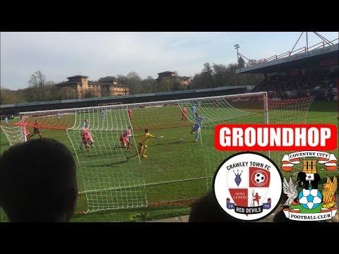 Groundhop Crawley Town VS Coventry City /CheckATrade Stadium
