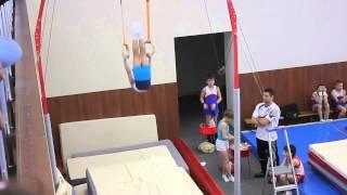 Спортивная гимнастика - кольца