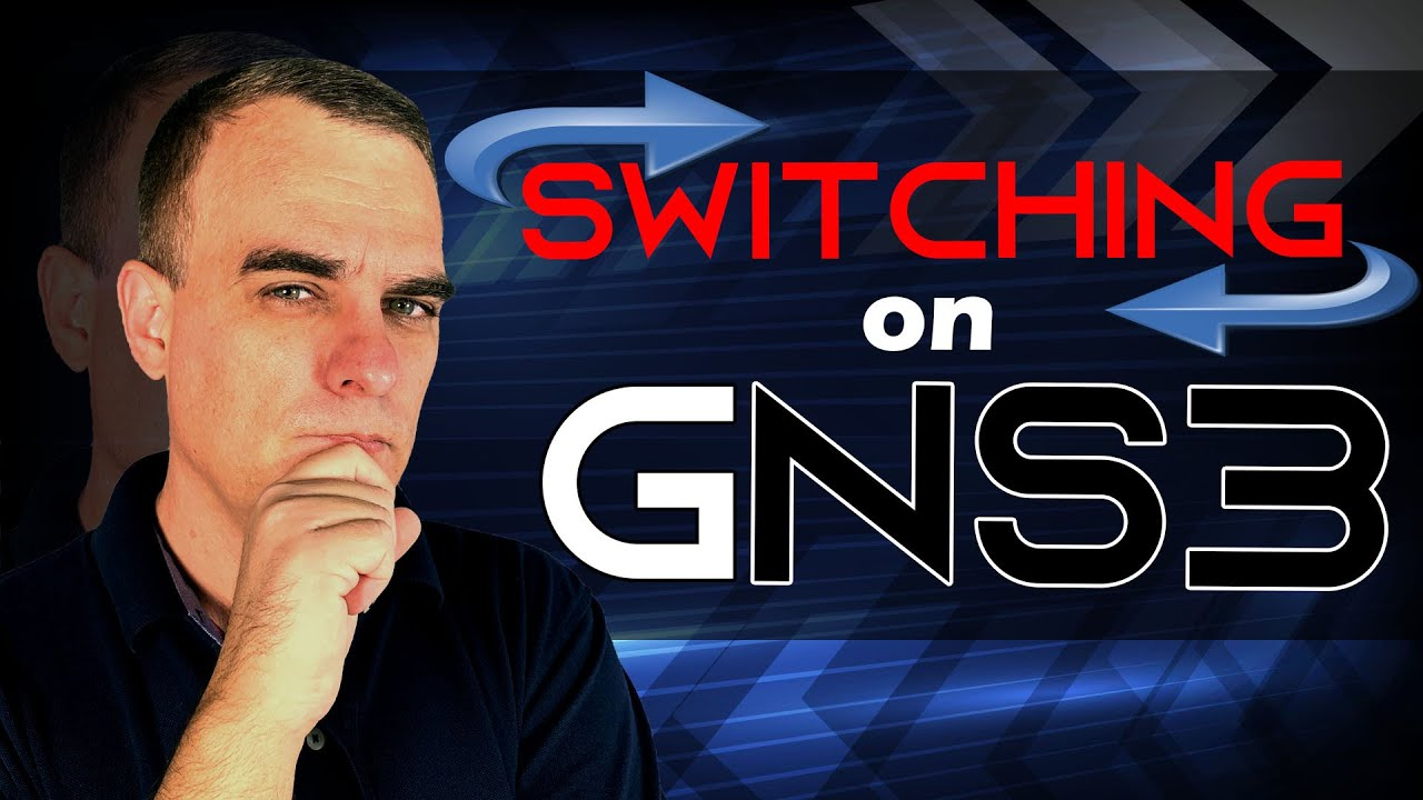 Gns3 How To Set Up Switching In Youtube Start Stop Control Wiring Diagram With Six Stops