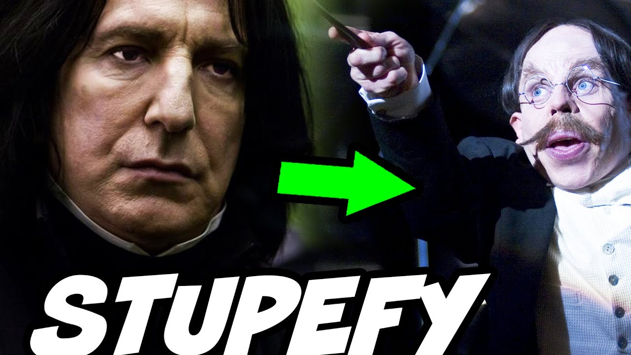Why Did Snape STUPEFY Flitwick? - Harry Potter Explained