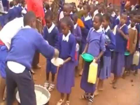 Livingstone Tanzania Trust feeding programme