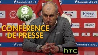 Conférence de presse Stade de Reims - RC Lens (0-2) - 2016/2017
