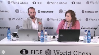 FIDE World Chess Candidates Tournament 2018 / ROUND 3 /
