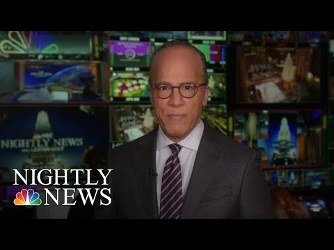 Lester Holt Turns The Camera On His 'NBC Nightly News' Teammates | NBC Nightly News