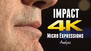 MICRO EXPRESSIONS in IMPACT Trailer - LIE TO ME Style Micro Expressions Analysis