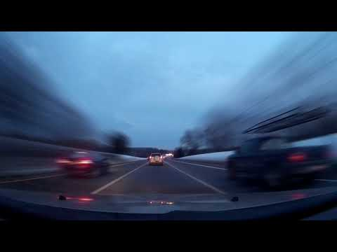 Allentown, PA to New York City in 8 Minutes - Dash-Lapse SJCAM