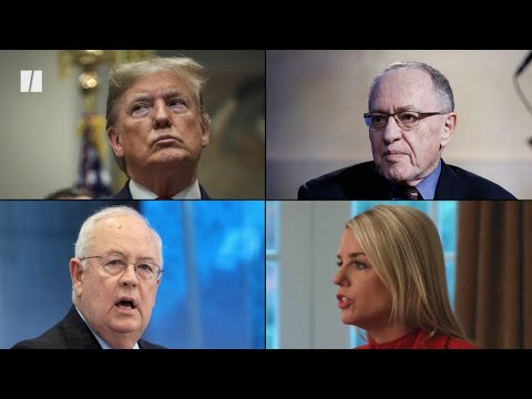 Trump's impeachment legal team to include Ken Starr and Alan ...
