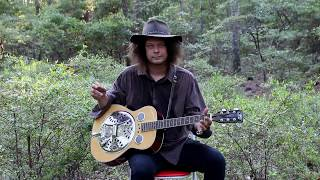 John Henry - Old Style - Slide Guitar - Appalachian Blues - Edward Phillips