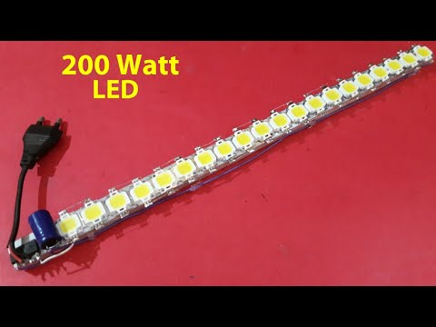 how to make 200w 230v led strip step by step youtube. Black Bedroom Furniture Sets. Home Design Ideas