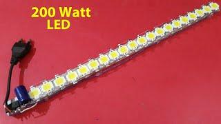 How to Make 200w/230v LED Strip (step by step)