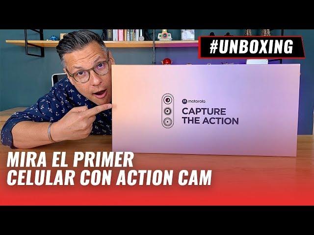 Motorola One Action - Unboxing en español
