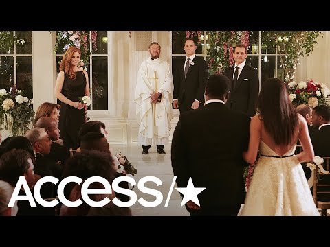 'Suits': Mike & Rachel's Wedding Pics Are Here — See Patrick J. Adams & Meghan Markle! | Access