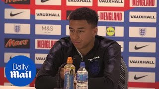 England v Colombia: Jesse Lingard previews World Cup last 16 - Daily Mail