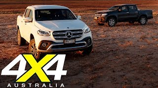 2018 Mercedes-Benz X250d hits the outback | 4X4 Australia