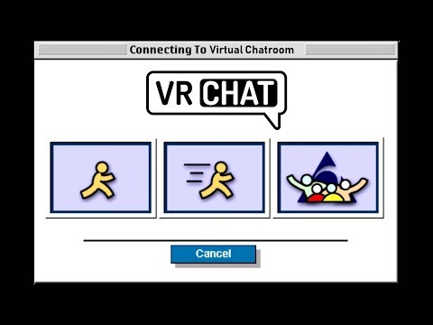 A Virtual Reality Chatroom