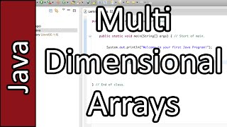 Multidimensional Arrays - Java Programming Tutorial #31 (PC / Mac 2015)
