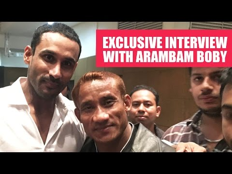 Exclusive interview with Arambam Boby