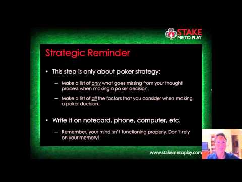 Stake Me To Play - Part 2 of 'Mastering the Mental Game of Poker with Jared Tendler'
