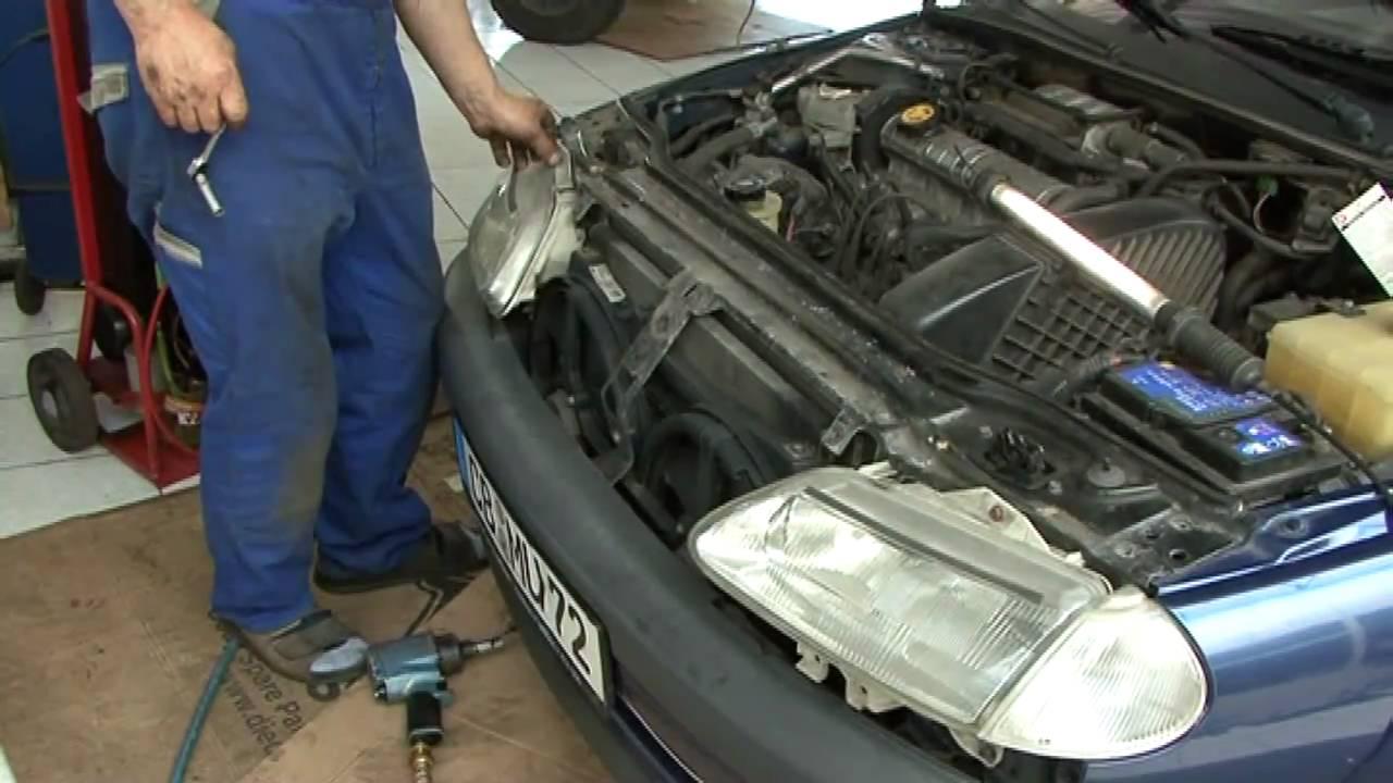 Renault Laguna 1 Gt Klimakondensatorwechsel Youtube