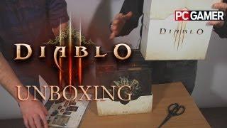 Diablo 3 unboxing