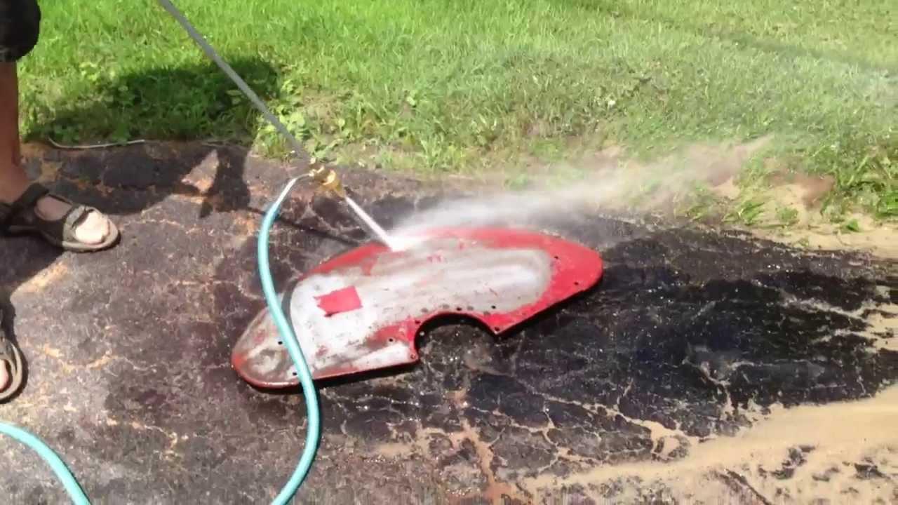 Northern Tool Sand Pressure Washer Youtube