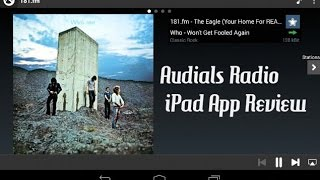 Audials Radio Android App Review Video