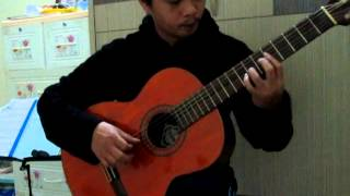 Chợ tình Sapa ( Guitar Classic )