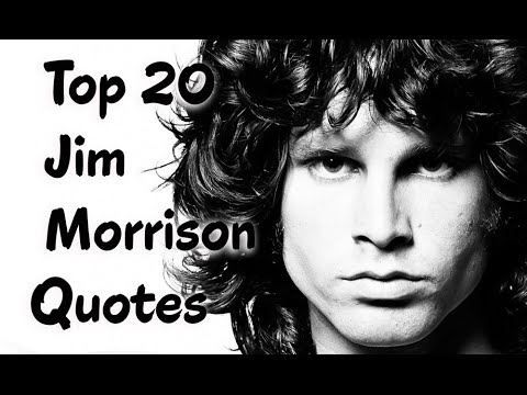 Jim Morrison Quotes Fascinating Top 48 Jim Morrison Quotes Author Of Wilderness YouTube