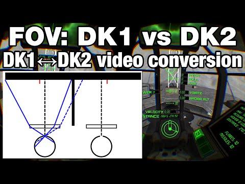 2ef1b3093eb FOV  DK1 vs DK2 + Convert DK1↔DK2 videos with unwarpvr! - YouTube