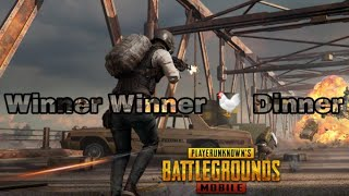 PUBG Mobile Team Gameplay Winner Winner Chicken Dinner For Android