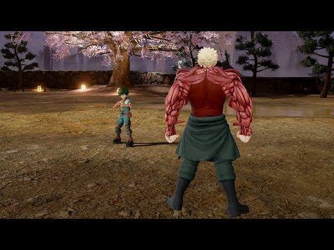 Jump Force - Muscular (Playable Character) vs Deku ! 1,000,000% Gameplay (MOD)