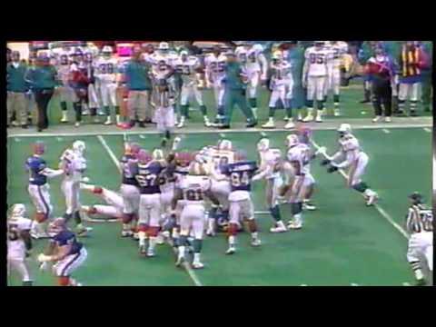 Buffalo Bills vs. Miami Dolphins - December 17, 1995