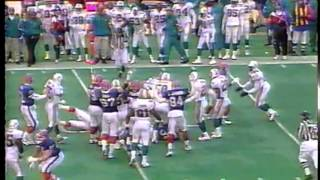 Buffalo Bills vs. Miami Dolphins - December 17, 1995