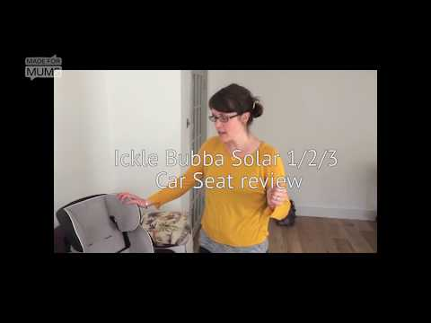 Ickle Bubba Solar 1/2/3 car seat review   MadeForMums Vlogger Review 2018