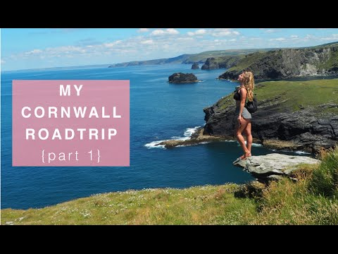 My Cornwall Roadtrip {Part 1} - Eden Project, Carlyon Beach, Tintagel Castle + Padstow
