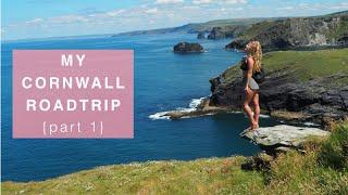 My Cornwall Roadtrip {Part 1} - Eden Project, Carlyon Beach, Tintagel Castle + Padstow