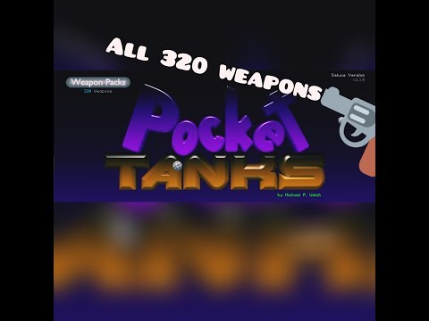 Unlock All Weapons In Pocket Tanks Free