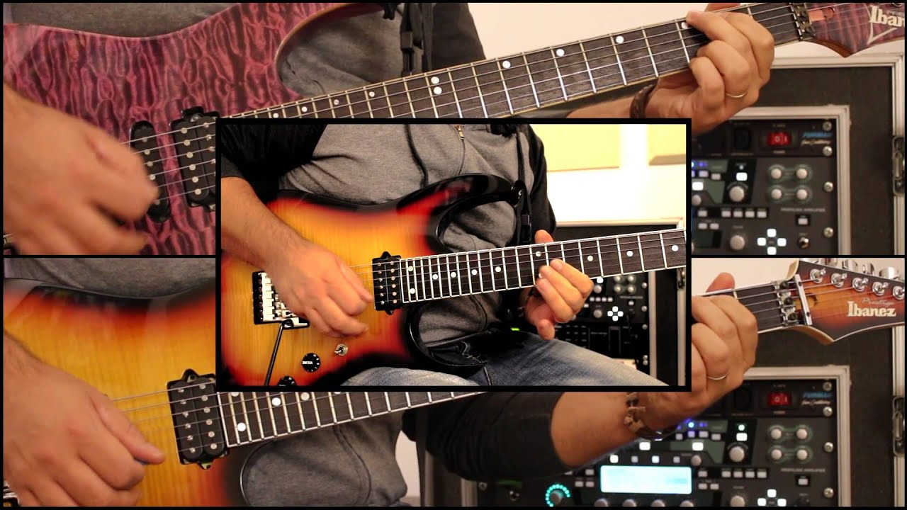 surrounded guitar playthrough marco sfogli with loop control