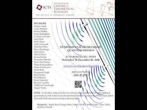 ICTS Colloquium - Landau-lifshitz Equations of Radiative Damping by Herbert Spohn
