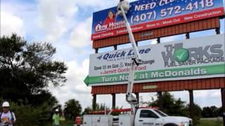 Video Billboard Installation by Lamar Outdoor Advertising of Lakeland, Fl download MP3, 3GP, MP4, WEBM, AVI, FLV Juli 2018
