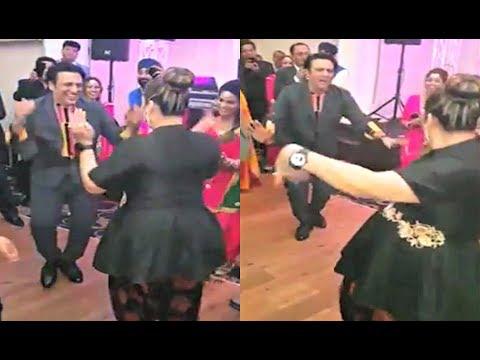 Govinda Dance With Wife Sunita To Kisi Disco Mein Jaye
