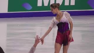 Анастасия Мишина Александр Галлямов КП Открытые прокаты 2021 2021 Олимпийский сезон